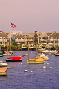 Harbor, Nantucket town, Nantucket Island, Massachusetts, USA