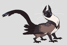 Siamese Owlcat by Sheylu on DeviantArt