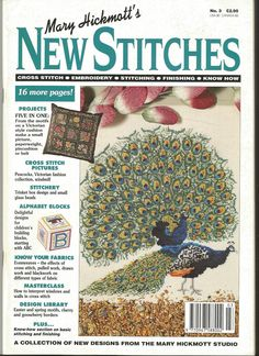 New Stitches N3 - Old English cross stitch magazine