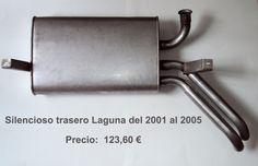 SILENCIOSO TRASERO LAGUNA II