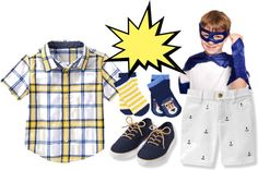 what to wear to a superhero party #diy #fashion #superhero #superheroparty #superherocostume #costume #halloween #kids #cape