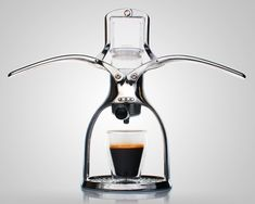 ROK Manual Espresso Maker gadget ROK Manual Espresso Maker  (gadgets, ideas, inventions, cool, fun, amazing, new, interesting, product, design, clever, practical, useful, tech, technology, electronic, gizmo, brilliant, genius, coffee, cafe)