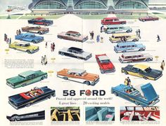 1958 Ford Foldout