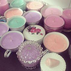 Teacup Candles---- OH. MY. GOD.....(3O