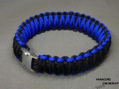 Paracord-Halsbänder.de - Paracord Halsband mit Strassbuchstaben