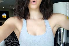 Kendall Jenner reveals why she cut her hair...