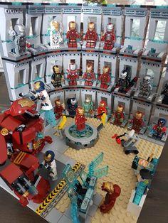 lego marvel Iron Man workshop in progress : lego Lego Marvel, Lego Ironman, Lego Spiderman, Robot Lego, Lego Man, Iron Men, Lego Design, Lego Technic, Legos