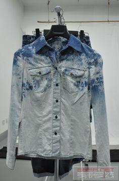 0008 Denim Men, Indigo Prints, Moda Casual, Casual Shirts, Creative, How To Wear, Jackets, Fashion, Men Fashion Casual