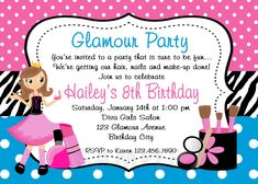 New printable barbie invitations printables pinterest barbie invitation card for birthday party free printable stopboris Image collections