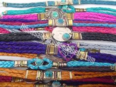Braided Leather Bracelets - Handmade Wholesale Peruvian Jewelry Alpaca Silver Products