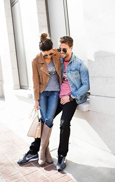 Couple Outfits for Game Day Hello Fashion Blog
