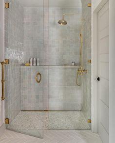 Bathroom Renos, Laundry In Bathroom, Bathroom Renovations, Small Bathroom, Master Bathroom, Bathroom No Window, Small Tile Shower, Vashon Island, Küchen Design