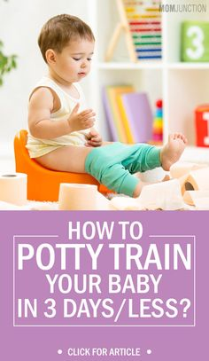 Potty training child in 3 days? Sounds impossible, isn't it? But it's not! yes here is a post that will let you know how to potty train your child in 3 days