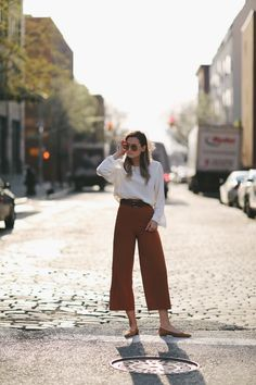 Spring Culottes #WeWoreWhat