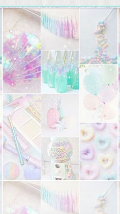 Shared with Dropbox aesthetic collage Rainbow Wallpaper, Pink Wallpaper, Galaxy Wallpaper, Cute Wallpaper Backgrounds, Pretty Wallpapers, Aesthetic Pastel Wallpaper, Aesthetic Wallpapers, Rainbow Aesthetic, Girly