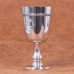 Elliot Clan Crest Goblet. Free Worldwide Shipping Available
