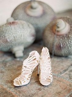 Sassy straps wedding shoes