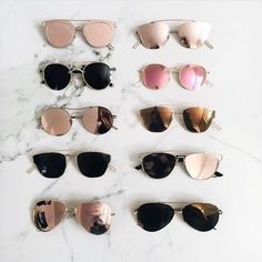 Imagem de sunglasses, summer, and glasses
