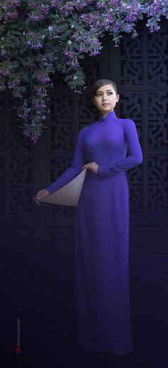 35PHOTO - duong quoc dinh - Ao Dai Vietnam .model: Xuan Van, Photo: Duong Quoc Dinh
