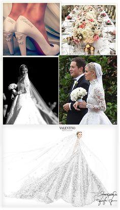 La robe de mariée Valentino de Nicky Hilton Mariage avec James Rothschild http://www.vogue.fr/mariage/inspirations/diaporama/la-robe-de-marie-valentino-de-nicky-hilton-mariage-avec-james-rothschild/21578