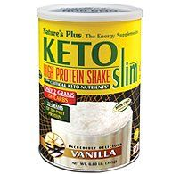 Natures Plus  Ketoslim Vanilla Shake With Critical Keto Nutrients 08 Lbs *** Details can be found by clicking on the image.Note:It is affiliate link to Amazon.