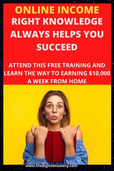Online Income, Online Earning, Make Money Online, How To Make Money, 4 Hour Work Week, Free Training, Work From Home Jobs, Big Picture, Passive Income