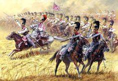Russian Cuirassiers. Campaign in Russia, 1812.