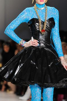 Betsey Johnson at New York Fall 2014. Look at this!