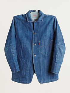 """Levis Red Archive"" Levi's Red Archive men's Blue Print Denim Jacket at LN-CC"