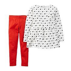 Carter's® Scottie Tunic and Leggings - Toddler Girls 2t-5t