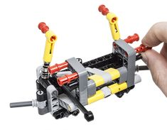 LEGO Technic Building Tip - Steer Axle Suspension
