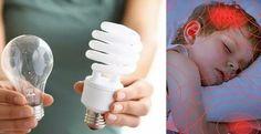 Queste lampadine causano mal di testa, ansia e anche il cancro. Ecco cosa fare