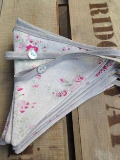 Hattie Bunting handmade by Clarabelle Interiors for Peony and Sage, Peony and Sage Linens