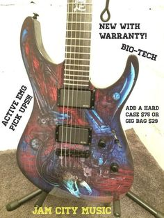 Edit description     ESP LTD EC VAMPIRE BIOTECHOnly 150 MadeList price: $999.00. Get it here for a killer deal!!! The strat version is sweet!