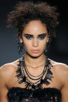 Nicole Miller at New York Fashion Week Fall 2014.