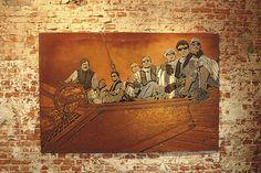 Exhibition Support Your Local Heros 5. Crew sailing the big wide ocean. Original Foto © M. Müncheberg