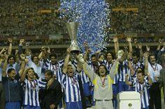 A festa da conquista da Taça UEFA - O Jogo