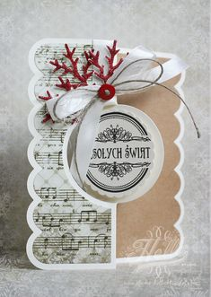 Christmas Card - Scrapbook.com - Lovely interactive card