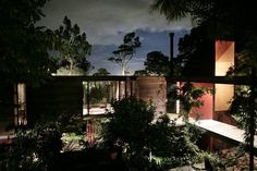 phthalo-blue: The Brake House, Titirangi NZ. Designed by Ron Sang in the 1970s for photographer Brian Brake.