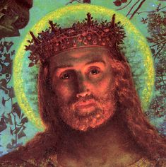 'Face of Jesus' Painted by William Holman Hunt in the 19th century, it is one of the most famous images of Jesus, reproduced countless times.