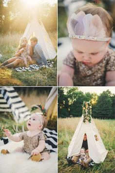 "Family photo // A Tiny Arrow Feather Pixie Crown ""Moon Stone"" Images by Connection_Photography_FamilyNC13 #atinyarrow #feathercrowns"