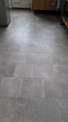 Grey Amtico Flooring Installed to a Kitchen