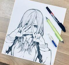 Read 5 Toubun No Hanayome Manga English Sub For Free Anime Drawings Sketches, Anime Sketch, Manga Drawing, Manga Art, Cool Drawings, Manga Anime, Sketch Art, Reference Manga, Drawing Reference