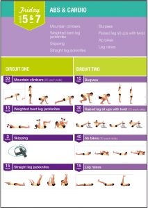 Week 5 Kayla Itsines - Programme fitness - Blogomaman