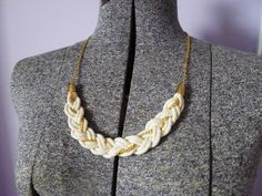 Rope and Chain DIY Necklace | The Average Girl's Guide