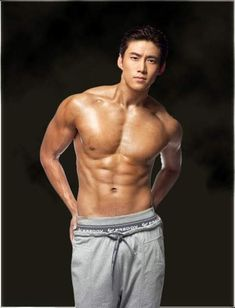 Just 20 Photos of Sexy Shirtless Korean Men Because You're Welcome - Koreaboo Handsome Asian Men, Hot Asian Men, Asian Muscle Men, Asian Guys, Asian Actors, Korean Actors, Style Masculin, Chef D Oeuvre, Asian Hotties