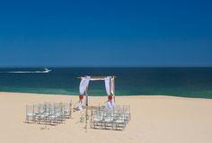 Sheraton Hacienda del Mar Golf & Spa Resort, Los Cabos wedding on the beach