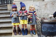Coffee Break: Benetton LIfestyle Kids Fall Winter 2013/2014