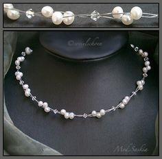Brautschmuck+echte+Perlen+Kristalle+Saskia+Kette+von+sovielschoen+-++schmuck+und+schmueckendes++&++Brautschmuck+auf+DaWanda.com