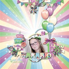 "New---New---New  ""Birthday Bash"" by JoCee Designs  http://store.gingerscraps.net/JoCee-Designs/ http://www.thedigichick.com/shop/JoCee-Designs/"
